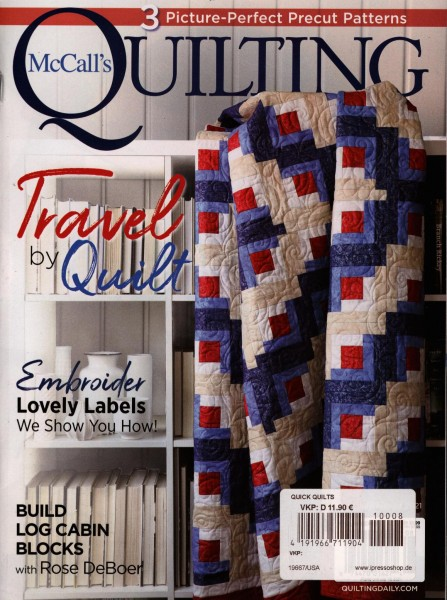 McCall`s QUILTING 8/2021