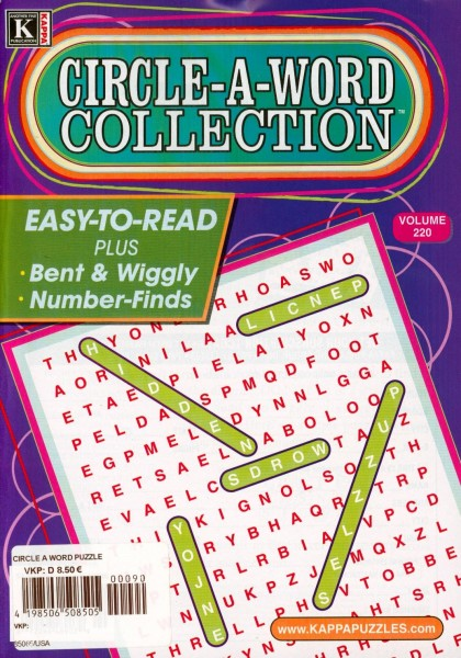 CIRCLE-A-WORD COLLECTION 90/2020
