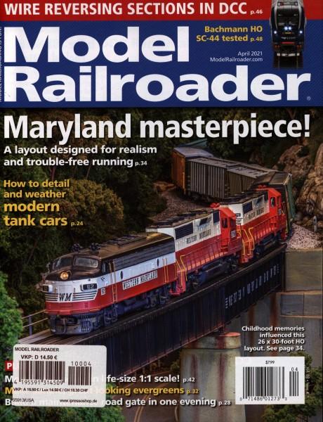 Model Railroader 4/2021