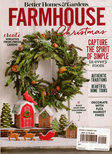 BH&G FARMHOUSE Christmas 5/2020