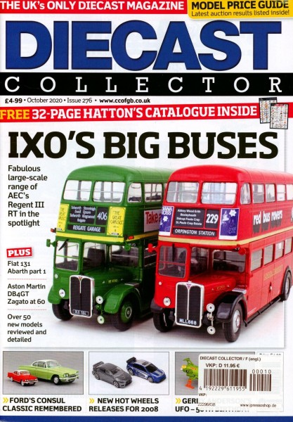 DIECAST COLLECTOR 10/2020