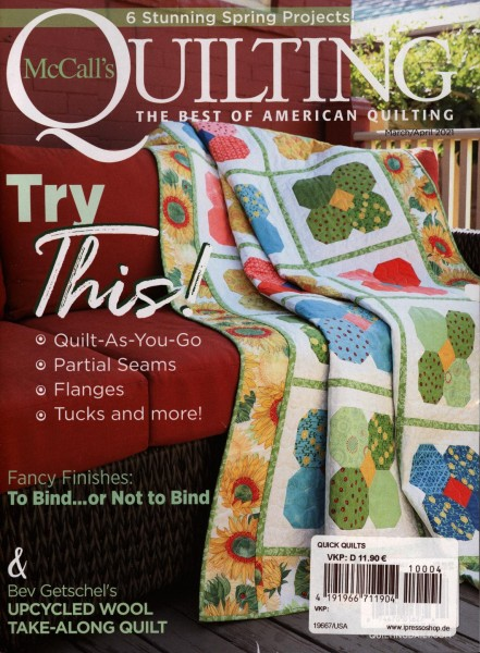 McCall`s QUILTING 4/2021