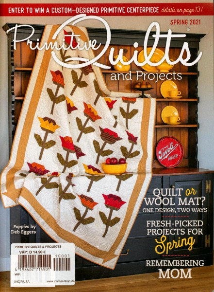 Primitive Quilts and PROJECTS 1/2021