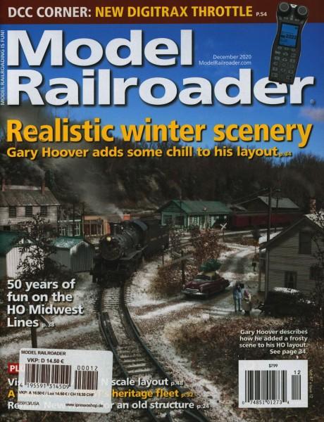 Model Railroader 12/2020