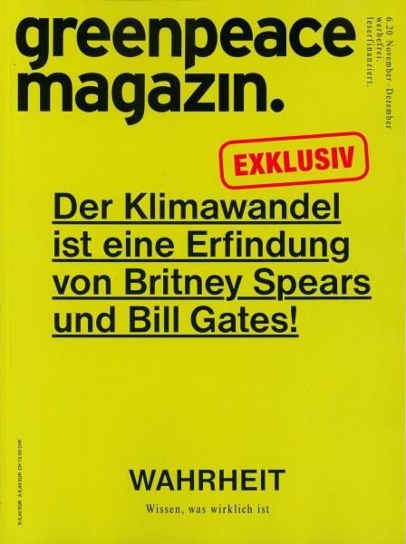 greenpeace magazin. 6/2020