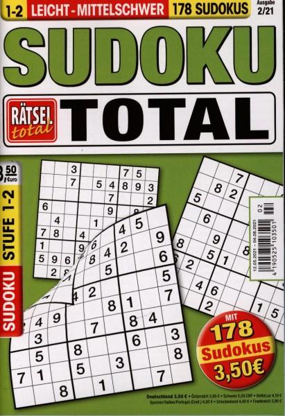 Rätsel tot.SudokuTotal1-2 2/2021