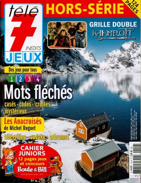 tèlè 7 JEUX HORS-SÉRIE 110/2020