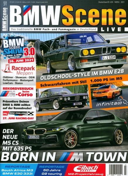 BMW Scene LIVE 3/2021