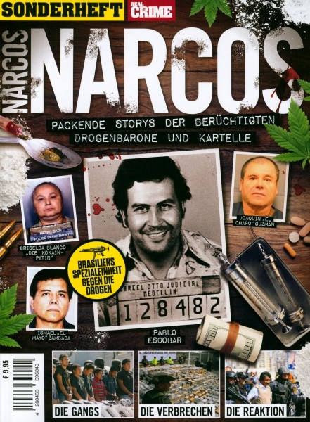 REAL CRIME SONDERHEFT NARCOS