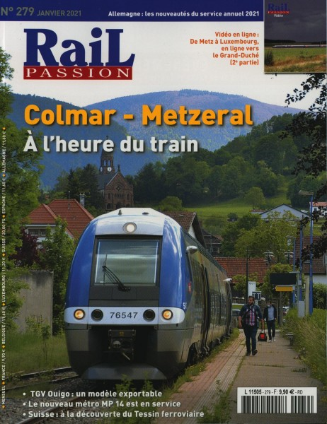 Rail PASSION 279/2021