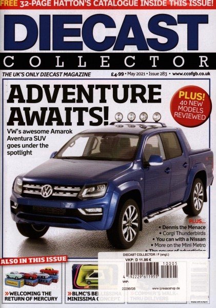 DIECAST COLLECTOR 5/2021