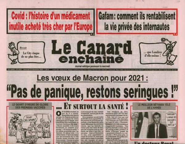 Le Canard enchaînè 5225/2020