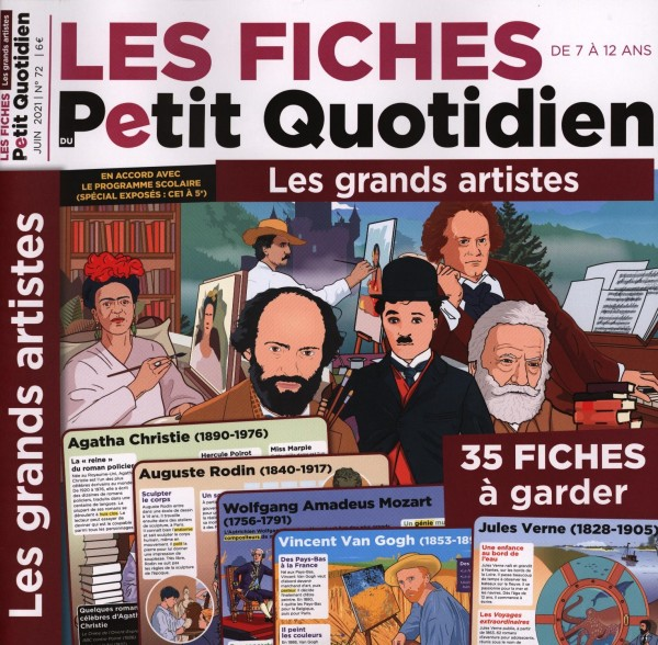 LES FICHES DU Petit Quotidien 72/2021