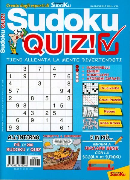 Sudoku QUIZ! 28/2020