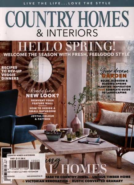 COUNTRY HOMES & INTERIORS 3/2021