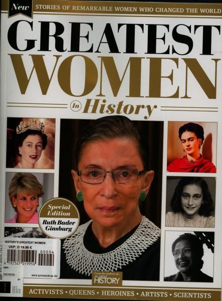 HISTORY'S GREATEST WOMEN 4/2020
