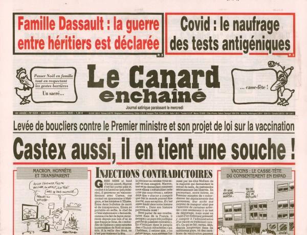 Le Canard enchaînè 5224/2020