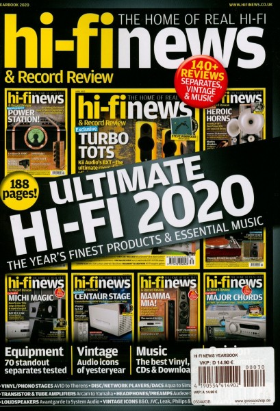 HI FI NEWS YEARBOOK 30/2020