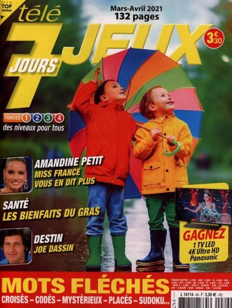 tèlè 7 JOURS JEUX 89/2021