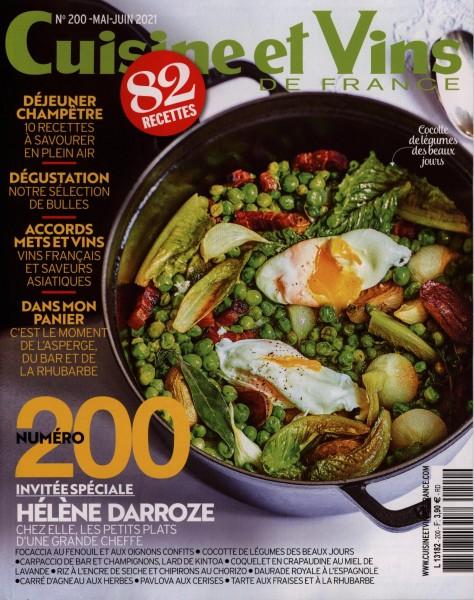 Cuisine et Vins DE FRANCE 200/2021
