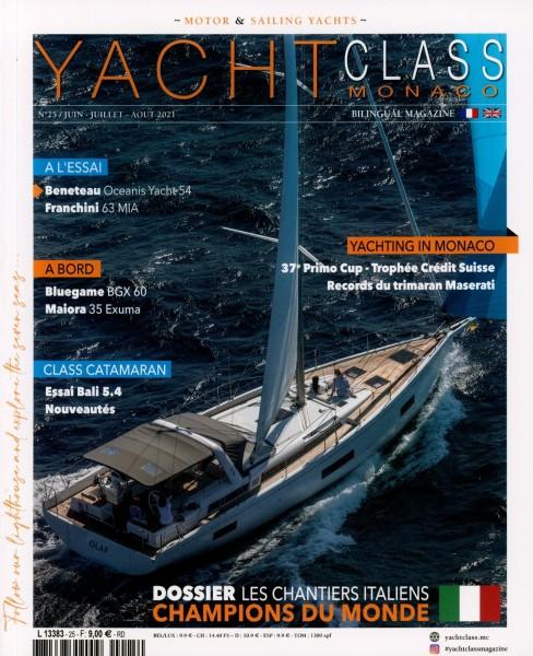 YACHT CLASS (FR & GB) 25/2021
