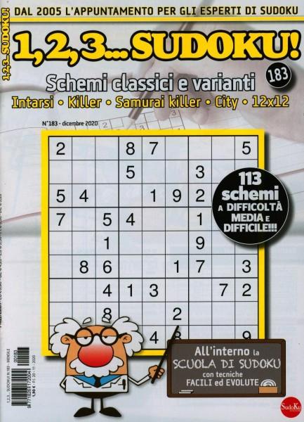 1,2,3...Sudoku! 183/2020