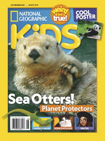NATIONAL GEOGRAPHIC KiDS (US) 8/2019