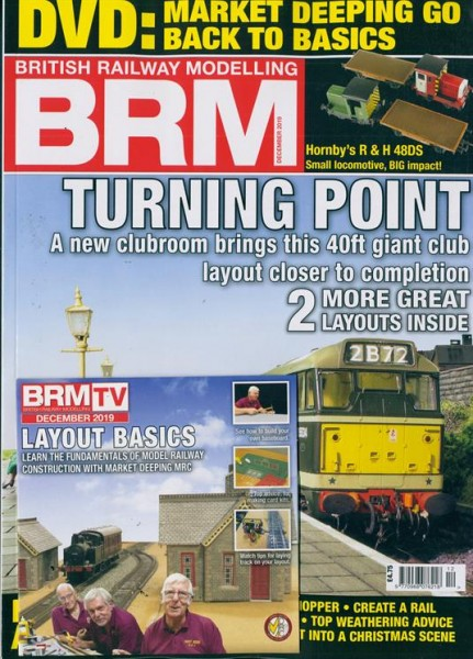 BRM BRITISH RAILWAY MODELLING 13/2019