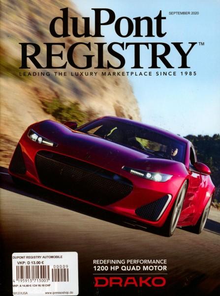 duPont REGISTRY 9/2020