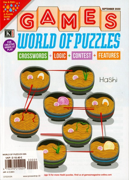 WORLD OF PUZZLES USA 9/2020
