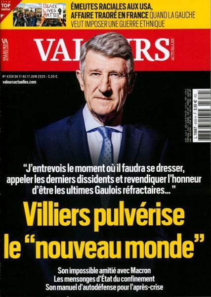 VALEURS ACTUELLES 4359/2020