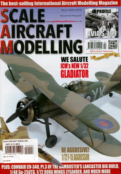 SCALE AIRCRAFT MODELLING 3/2020