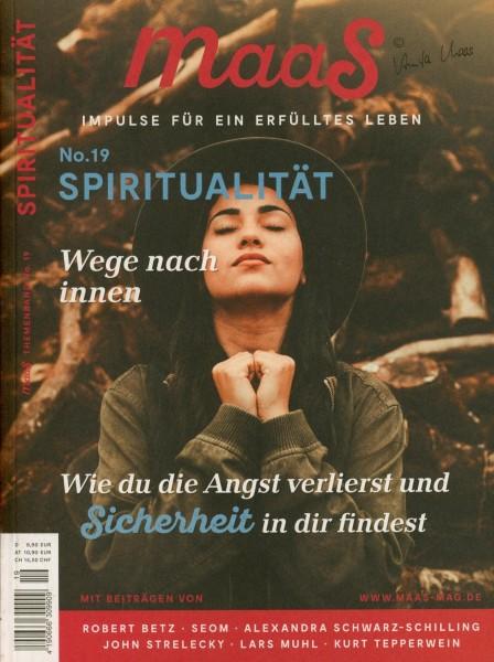 maaS # 19 SPIRITUALITÄT