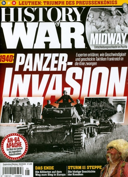 HISTORY of WAR 5/2020