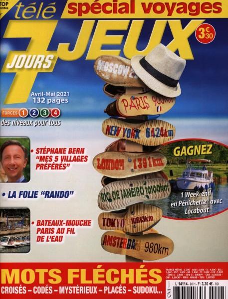 tèlè 7 JOURS JEUX 90/2021