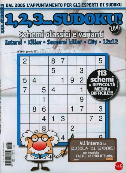 1,2,3...Sudoku! 184/2021