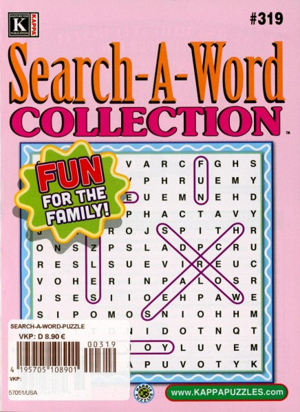 Search-A-Word COLLECTION 319/2020