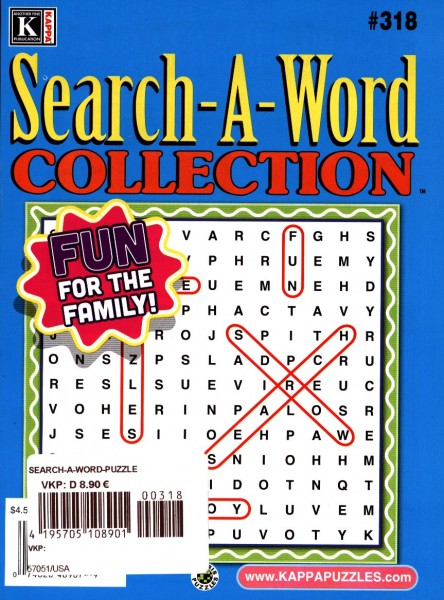 Search-A-Word COLLECTION 318/2020