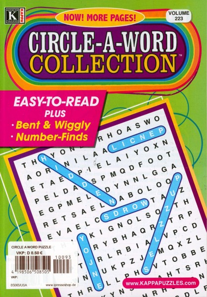 CIRCLE-A-WORD COLLECTION 93/2021