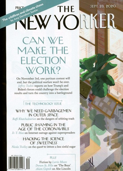 THE NEW YORKER 40/2020