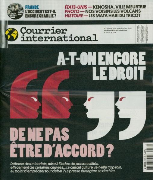 Courrier international 1557/2020