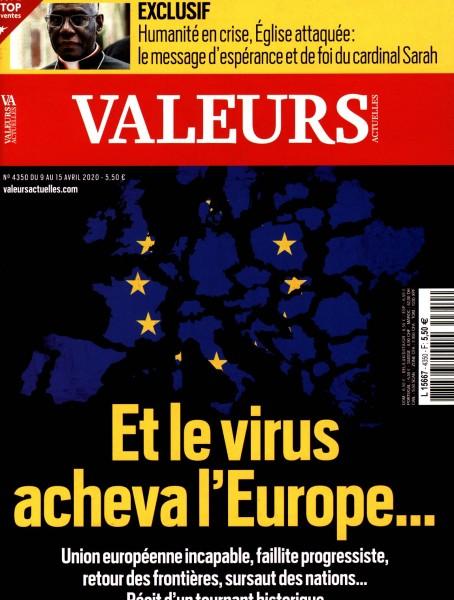 VALEURS ACTUELLES 4350/2020