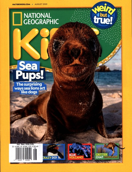 NATIONAL GEOGRAPHIC KiDS (US) 8/2020
