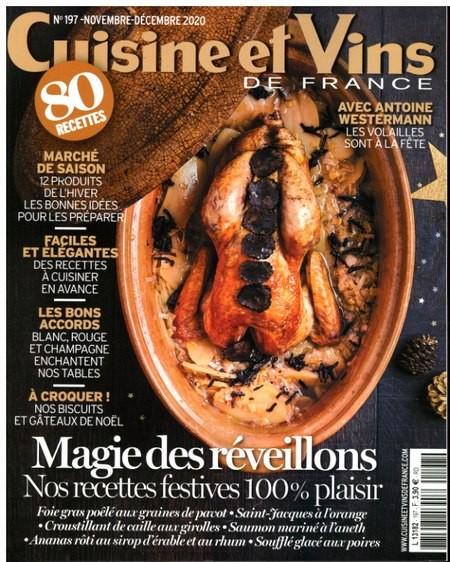 Cuisine et Vins DE FRANCE 197/2020