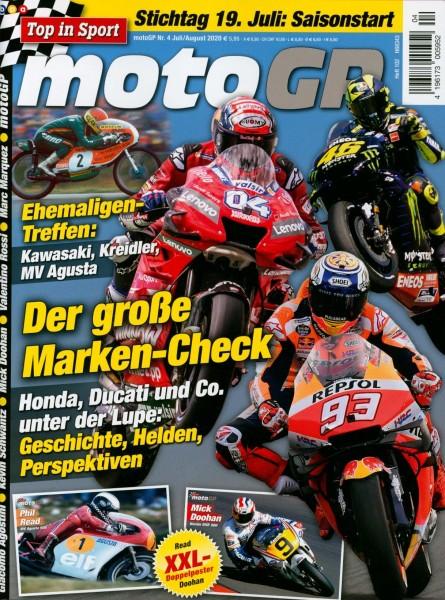 moto GP Jul/Aug 4/2020