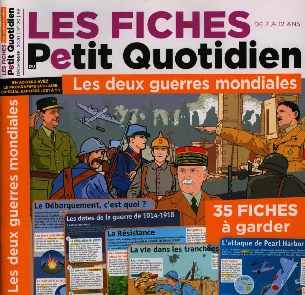 LES FICHES DU Petit Quotidien 70/2020