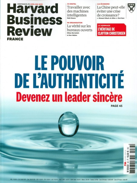 Harvard Business Review FRANCE 38/2020