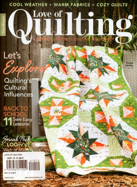 Love of Quiliting 10/2020